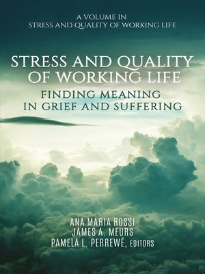 cover image of Stress and Quality of Working Life