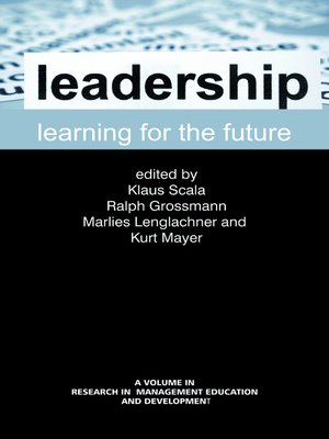 cover image of Leadership Learning for the Future
