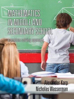 cover image of Mathematics in Middle and Secondary School