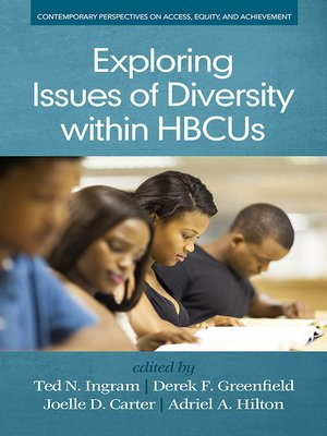 cover image of Exploring Issues of Diversity within HBCUs