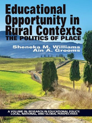 cover image of Educational Opportunity in Rural Contexts