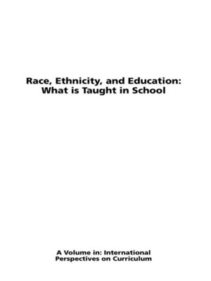cover image of Race, Ethnicity and Education