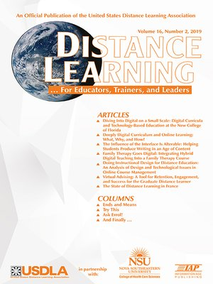 cover image of Distance Learning
