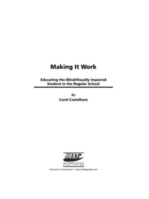 cover image of Making It Work