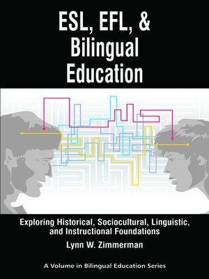 cover image of ESL, EFL and Bilingual Education