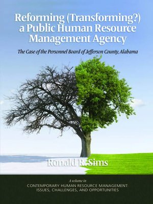 Reforming transforming a public human resource management agency reforming transforming a public human resource management agency fandeluxe Gallery