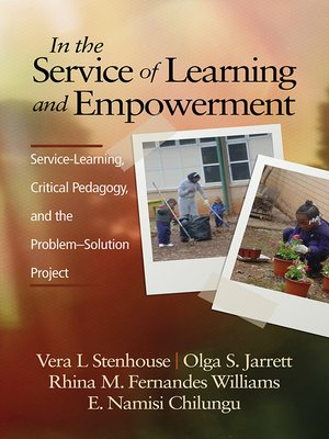 cover image of In the Service of Learning and Empowerment