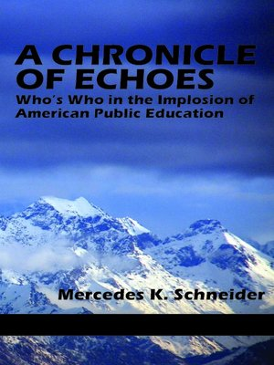 cover image of A Chronicle of Echoes