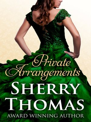 Sherry Thomas Private Arrangements Pdf