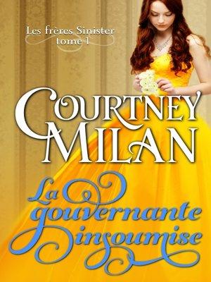 cover image of La Gouvernante Insoumise