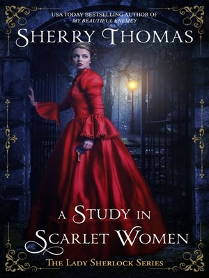 cover image of A Study in Scarlet Women