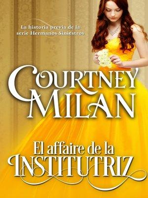 cover image of El Affaire de la Institutriz
