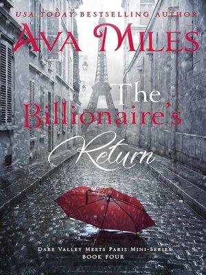 cover image of The Billionaire's Return