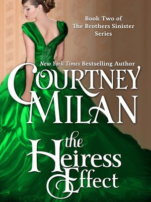 cover image of The Heiress Effect