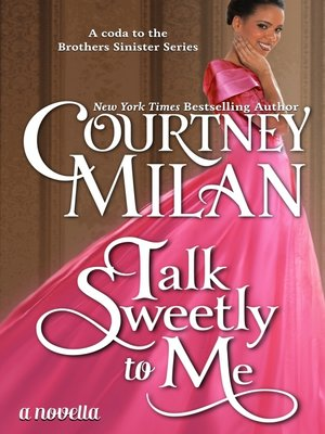 cover image of Talk Sweetly to Me