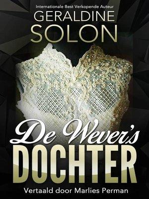 cover image of De wever's dochter