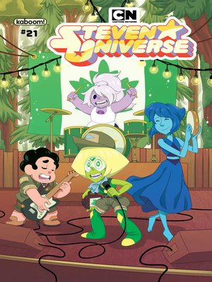 cover image of Steven Universe Ongoing, Issue 21