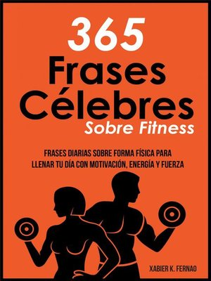 cover image of 365 Frases célebres sobre fitness
