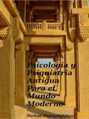 cover image of Psicología y Psiquiatría Antigua