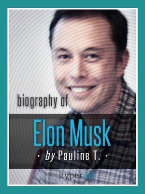 cover image of Biografía De Elon Musk