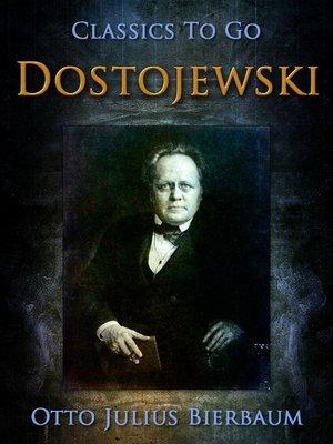 cover image of Dostojewski
