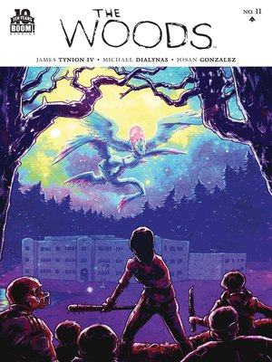 cover image of The Woods #11