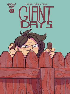 cover image of Giant Days (2015), Issue 41