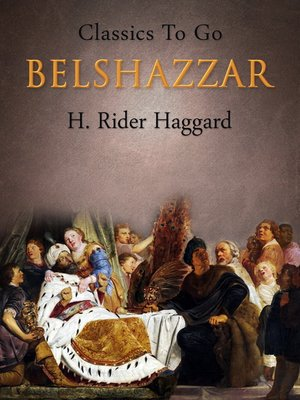 cover image of Belshazzar