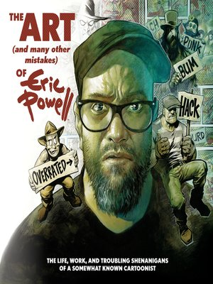 cover image of The Art (and Many Other Mistakes) of Eric Powell