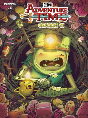 cover image of Adventure Time Season 11, Issue 6