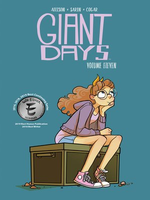 cover image of Giant Days (2015), Volume 11