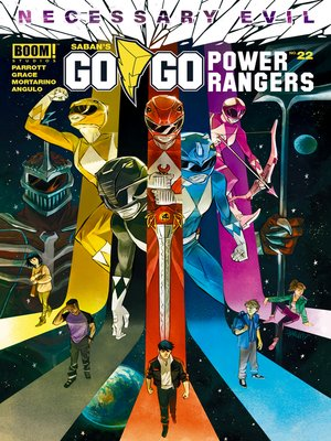 cover image of Saban's Go Go Power Rangers, Issue 22