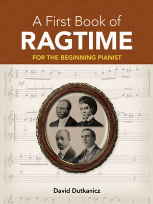 cover image of A First Book of Ragtime