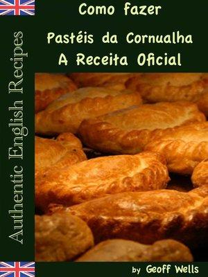 cover image of Como fazer Pastéis da Cornualha