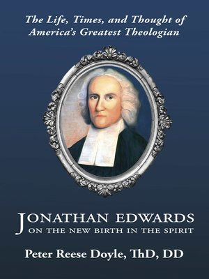 cover image of Jonathan Edwards on the New Birth in the Spirit