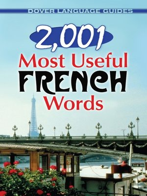 cover image of 2,001 Most Useful French Words