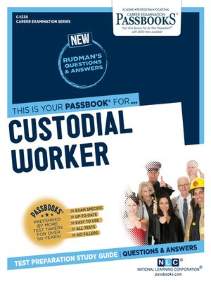 cover image of Custodial Worker