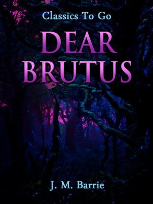 cover image of Dear Brutus