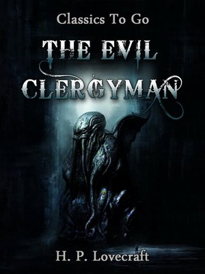 cover image of The Evil Clergyman