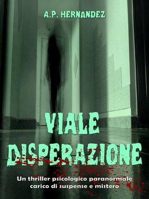 cover image of Viale Disperazione