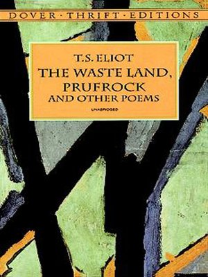 cover image of The Waste Land, Prufrock and Other Poems