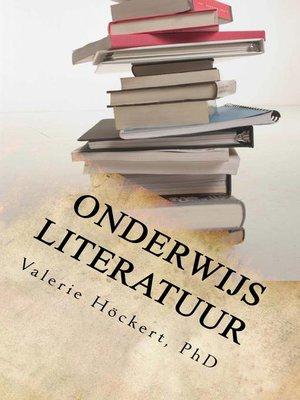 cover image of onderwijs Literatuur