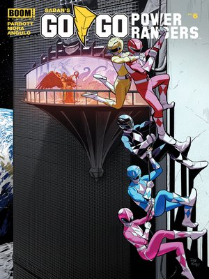 cover image of Saban's Go Go Power Rangers, Issue 6