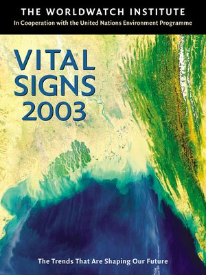 cover image of Vital Signs 2003