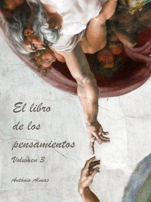 cover image of El libro de los pensamientos Volumen 3