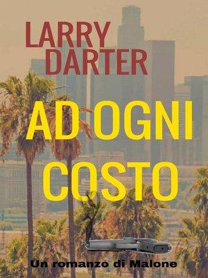 cover image of Ad ogni costo