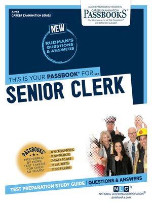 cover image of Senior Clerk