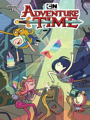 cover image of Adventure Time (2012), Issue 75