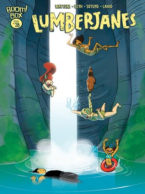 cover image of Lumberjanes #28