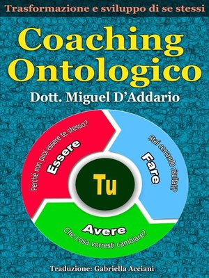 cover image of Coaching ontologico